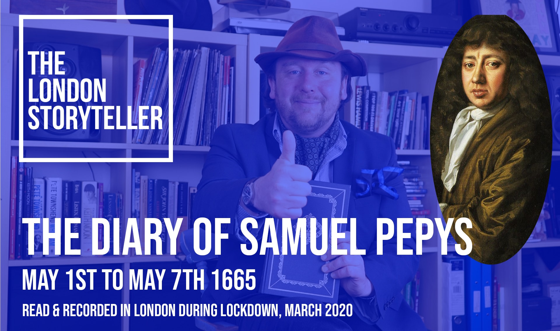 Custom thumbnail for The Diary of Samuel Pepys